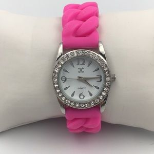Charming Charlie Rhinestone Quartz Watch